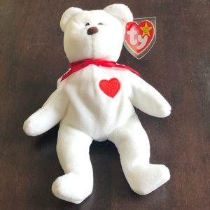 Vintage Valentino Beanie Bear